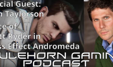 MHG EP 67: Tom Taylorson – Voice of Scott Ryder in Mass Effect Andromeda