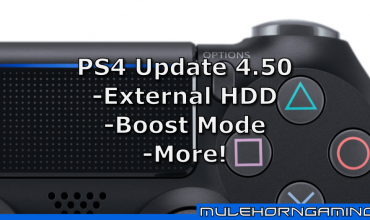 sony playstation ps4 system update 450 feature