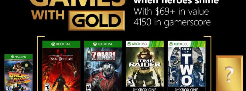 Xbox Live Games with Gold – January 2018