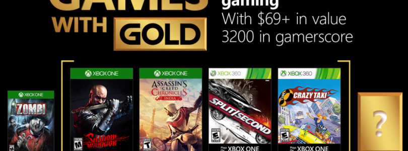 Xbox Live Games with Gold – February 2018