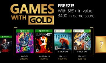 Xbox Live Games with Gold – March 2018