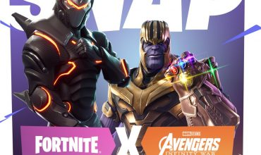 Fortnite Infinity War Crossover Event
