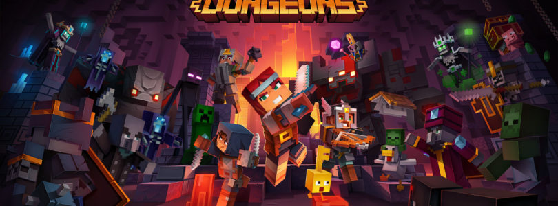 Minecraft Dungeons Gameplay